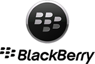 logotipo de la marca blackberry